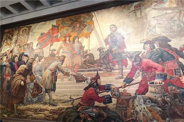 组图:环球网旅游频道带你探访俄罗斯武装力量博物馆
