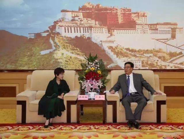 国民党前主席洪秀柱到访西藏 提出这点希望颇有深意