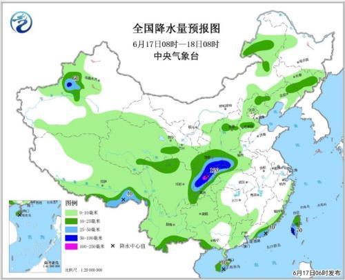 四川至长江中下游将有较强降水 东北华北多雷雨
