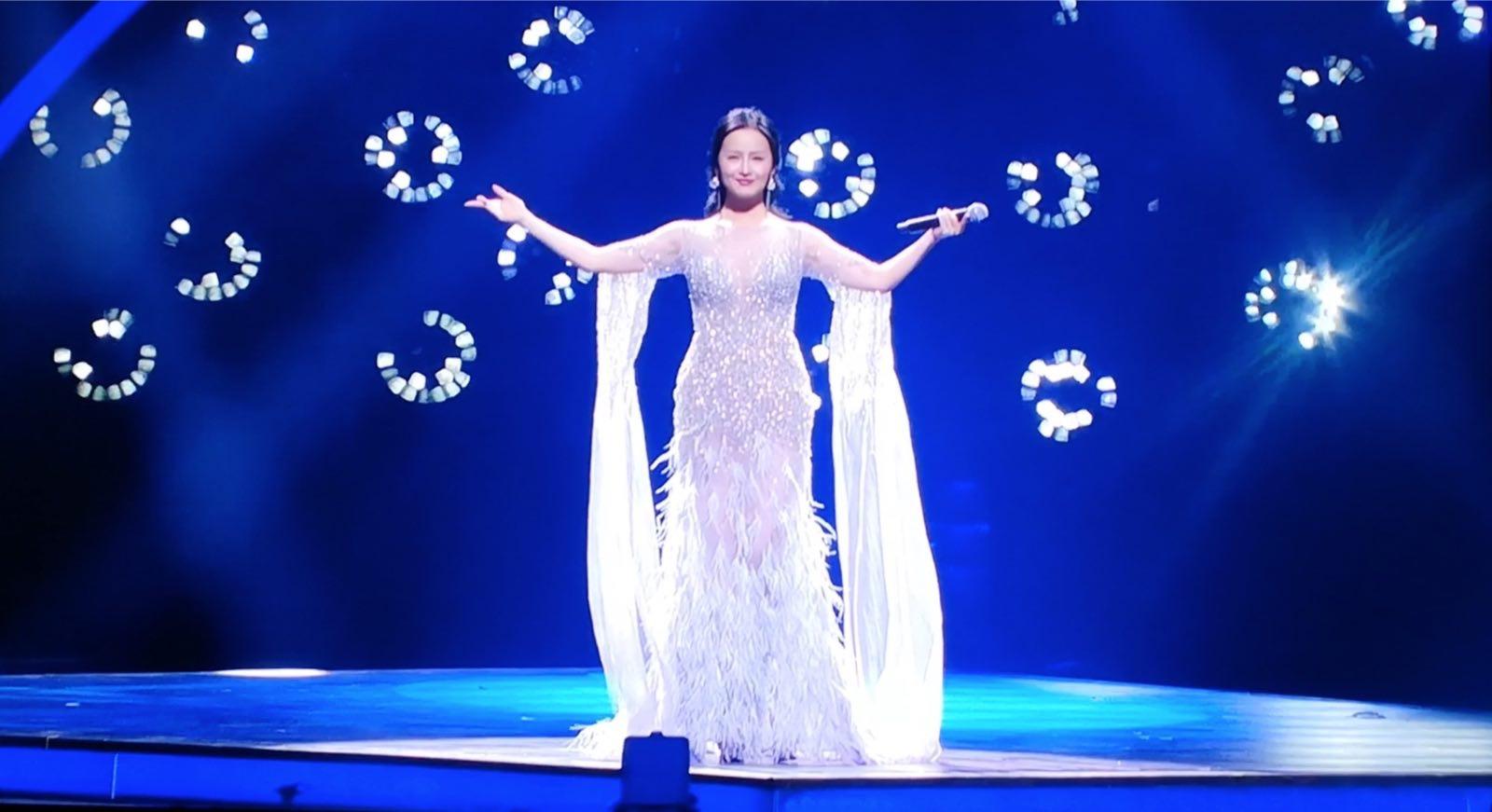"""中国歌手林宝""""阿斯塔纳之声""""国际流行演唱大"""