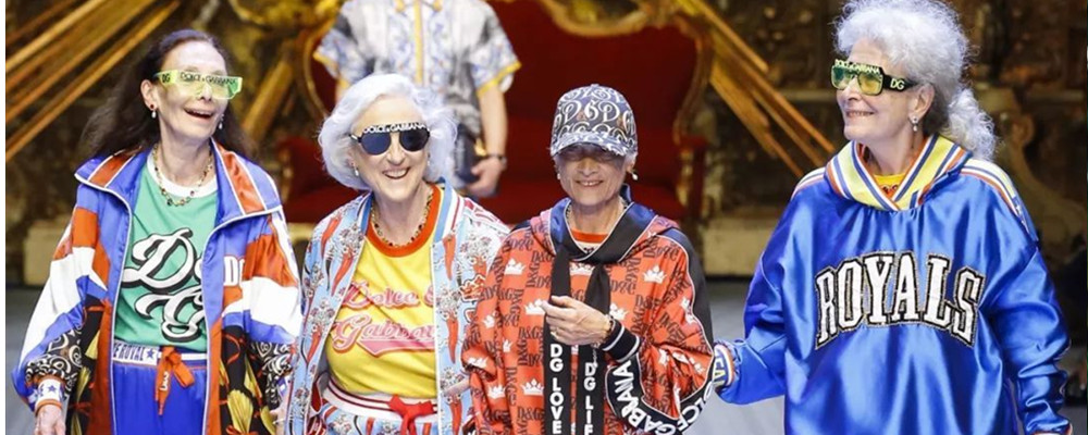Dolce & Gabbana 2019 春夏男装系列大 四个老奶奶潮炸了 T 台
