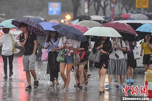 暴雨黄色预警:多省份有暴雨 河南湖北安徽局地大暴雨