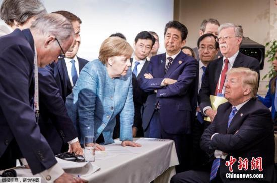 "G7峰会幕后曝光 特朗普""开涮""安倍过足嘴瘾"