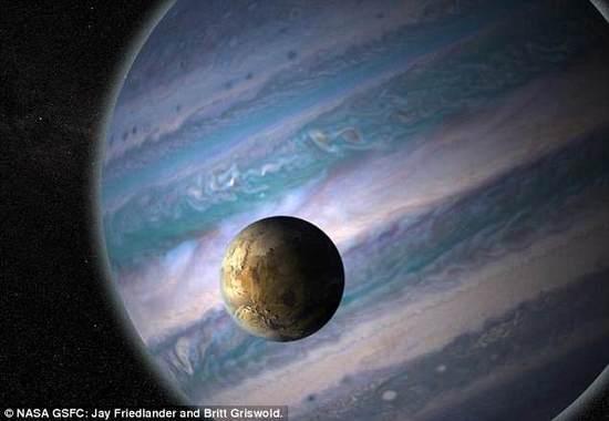 科学家:121颗系外行星的宜居卫星潜在外星生命