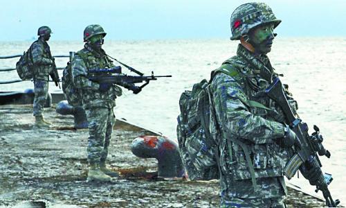日本连番抗议韩国独岛军演 怕文在寅政权更强硬