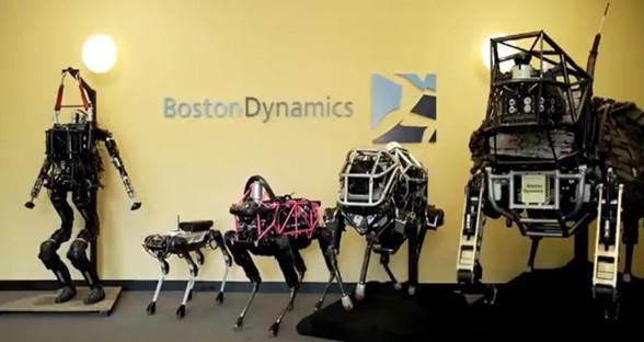盘点波士顿动力机器人家族 是武器还是帮手?
