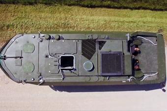 德国新型战车设计奇葩:朝前开是车 朝后开是船