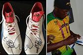 博尔特伦敦奥运签名鞋被盗 至少值2万英镑