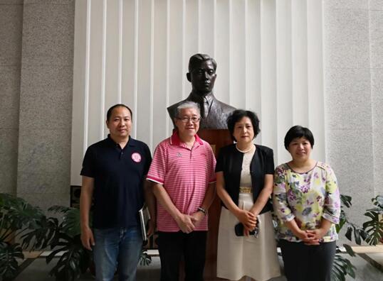 香港癌症基金会、香港哮喘会与中国初级卫生保健基金会进行交流