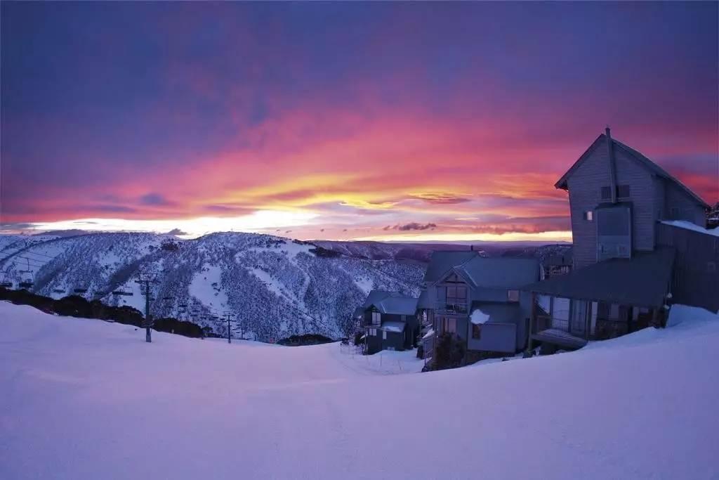 澳大利亚海拔最高的反季雪场 Mount Hotham滑雪场