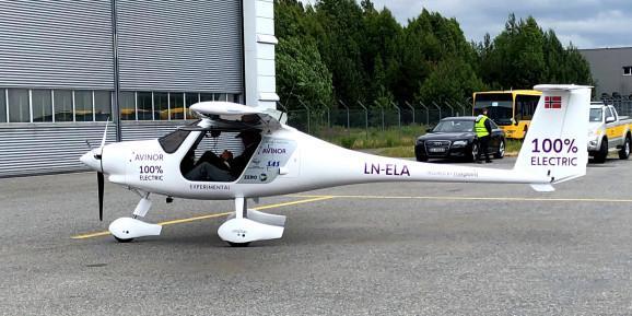 挪威测试双座电动飞机 预计2025年用于客运