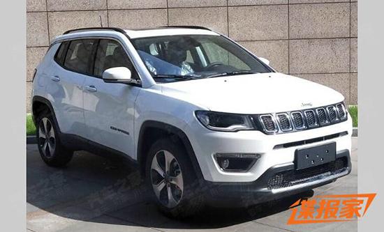 丰富选择 曝Jeep指南者2.0L车型申报图