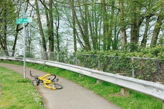 共享单车乱象不只国内有 美国人能否解决难题?