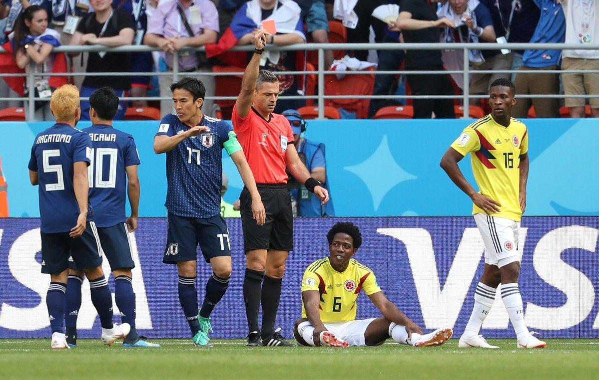 点球+红牌!日本队梦幻开局 造世界杯第二快红牌