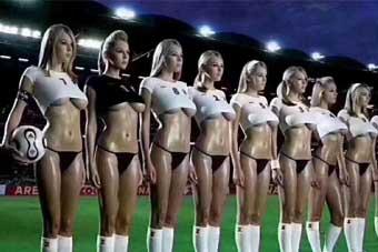 我最爱世界杯啦啦队员!