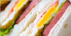 五分钟搞定营养早餐三明治