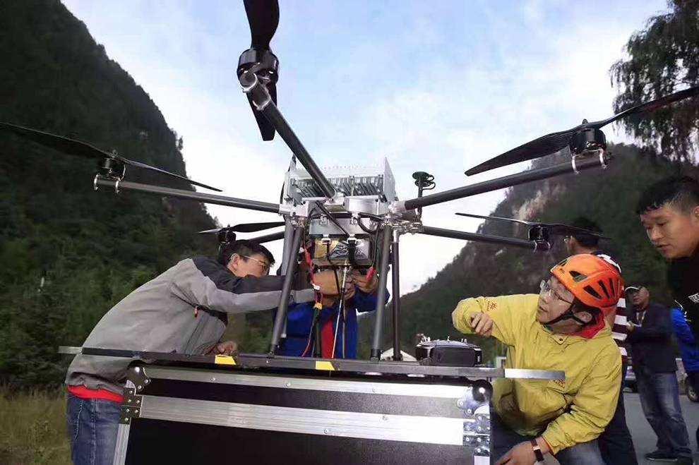 中国移动2100万元招标无人机基站:用于应急通信