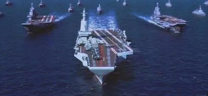 弹射型国产航母效果图曝光?这则消息透露新信号