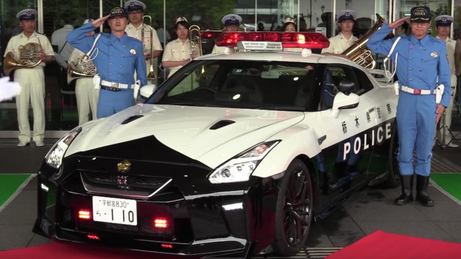 飙车党噩梦 日产GT-R警车将在日本枥木县服役