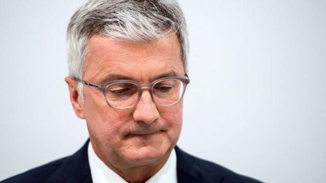 奥迪CEO施泰德涉嫌掩盖排放门证据 在德被捕
