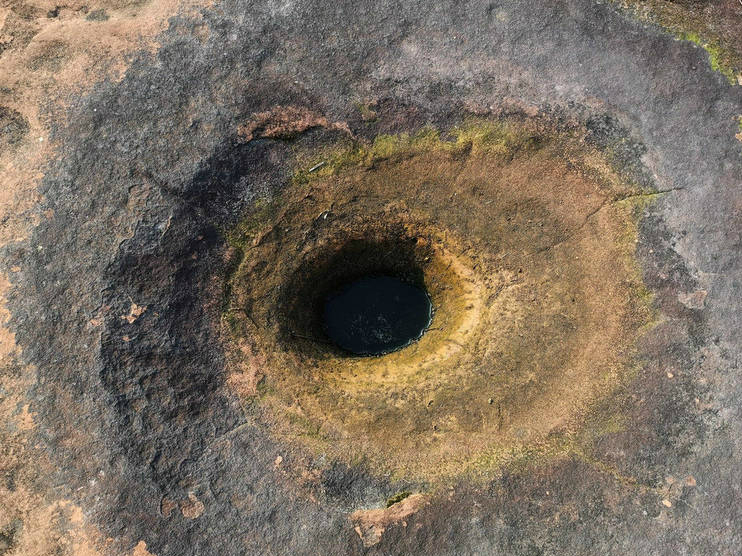 湖南发现200万年前旋涡石奇观
