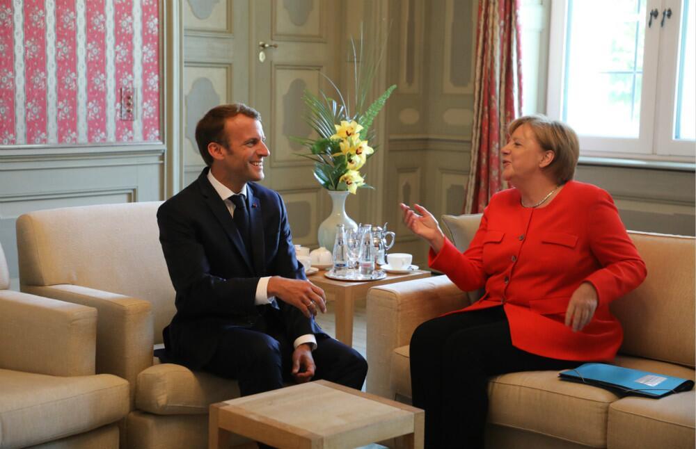 """法德领导人会晤聚焦难民问题 希望""""推动欧盟前进"""""""