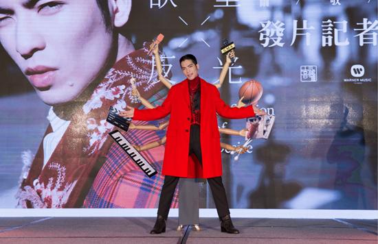 萧敬腾全新专辑《欲望反光》6月22日正式发行