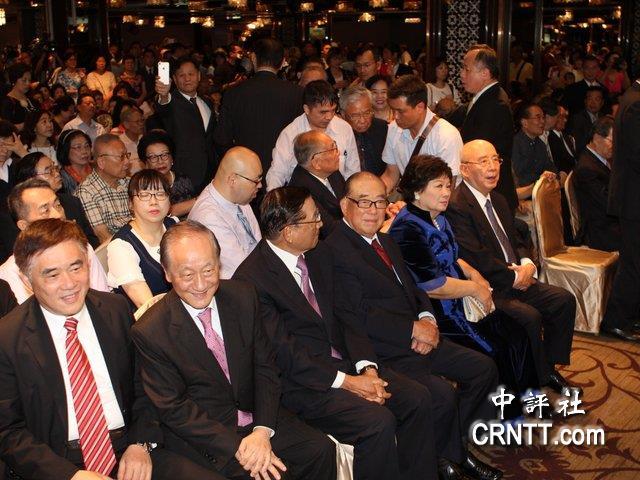 吴伯雄80大寿 国民党大佬齐聚展现团结气氛