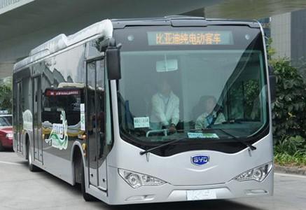 比亚迪获37亿大单 广州换装三千辆纯电动公交车