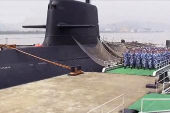 深海利剑!东海舰队用上国产新型AIP潜艇