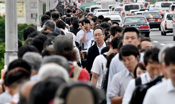 路上遇地震,上班还是回家?日本人这样选择