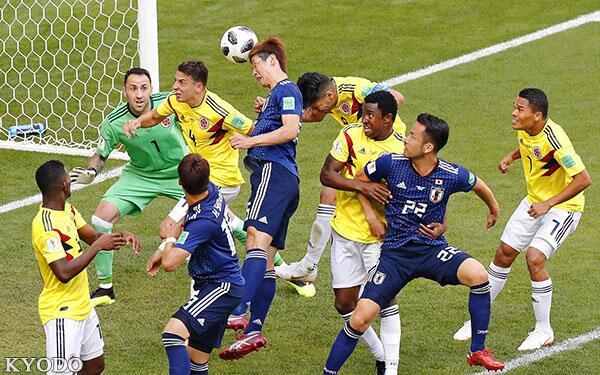 日媒:日本赢下哥伦比亚靠的不是运气 而是信念和拼搏精神