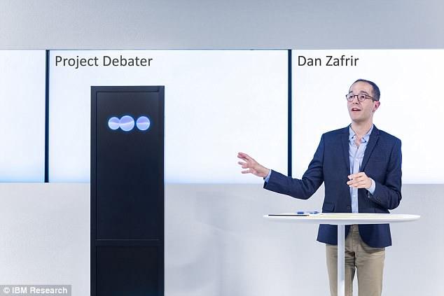 辩论届展开人机大战 IBM人工智能完胜人类