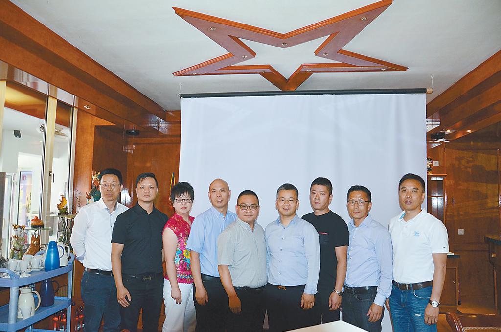 德国青田同乡会举行第十届理事选举大会