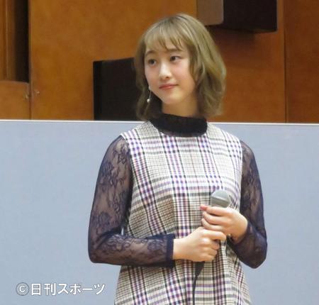 松井玲奈谈地震瞬间 称听到机械的声音和晃动
