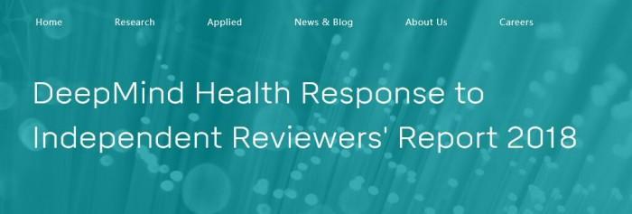 DeepMind陷舆论争议:或造成健康数据过度垄断