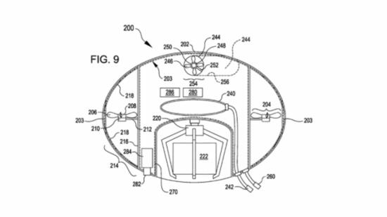 类似娃娃机的爪子:亚马逊申请泡泡状货运无人机专利
