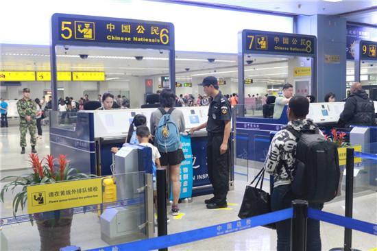 福州机场边检站实现中国公民通关不超30分钟