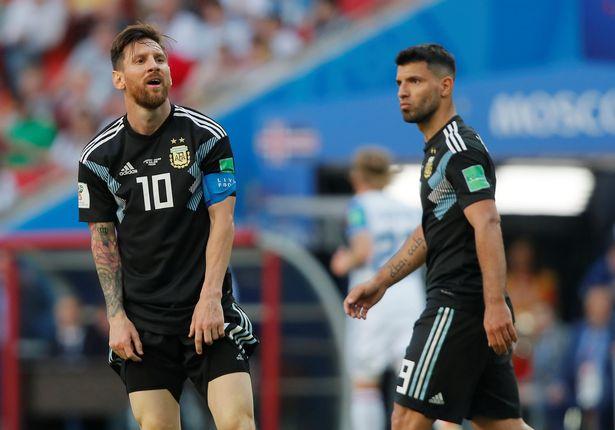 阿圭罗力挺梅西:他也是凡人 唯有他能帮我们赢球