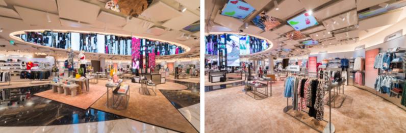 """DFS集团创新的""""环球设计空间""""为年轻顾客重新演绎时装国度"""