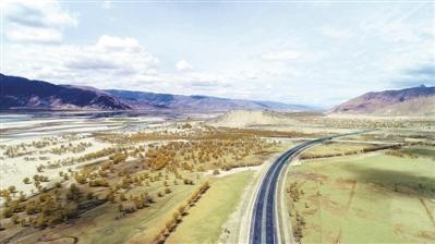 西藏持续推进治沙造林