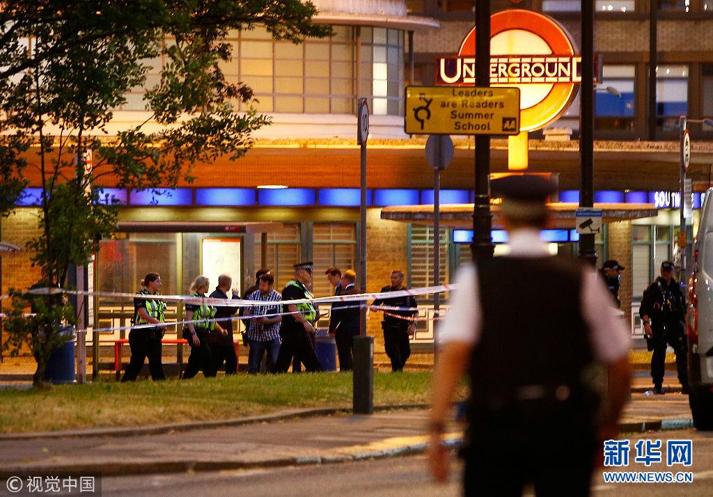 伦敦一地铁站发生爆炸 造成数人受伤