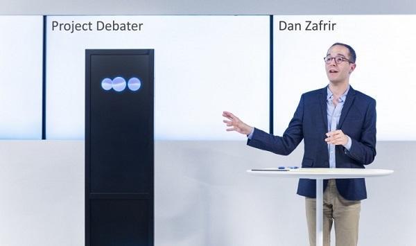 IBM推出会辩论的AI 首战击败人类顶尖辩手