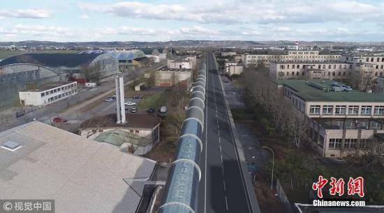 中国版超级高铁试验线正搭建 时速1500公里有望