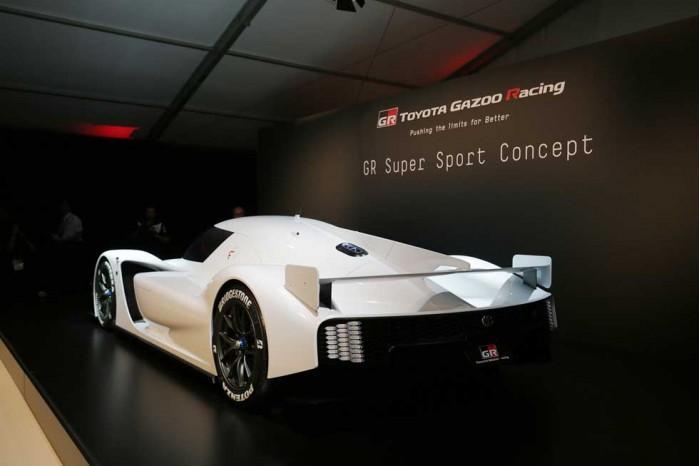 性感十足!丰田展示下一代GR超级运动概念车
