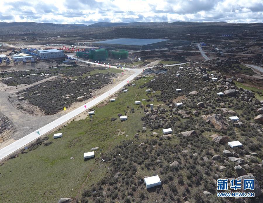 我国高海拔宇宙线观测站正式开工