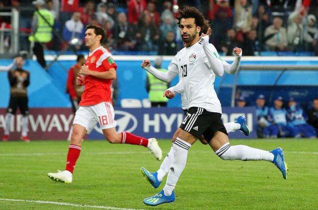 俄罗斯3-1埃及两连胜 萨拉赫点球难救主