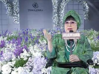 专访日本国宝级高定设计师桂由美
