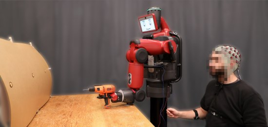 麻省理工开发出新型界面系统:意念控制机器人