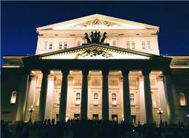 世界杯景点巡礼 莫斯科大剧院